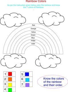2018 Color Activities for Kindergarten