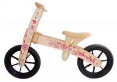 Pilch - Góralek - jeździk dla dzieci - kwiatki #eco #fun #eko #zabawa