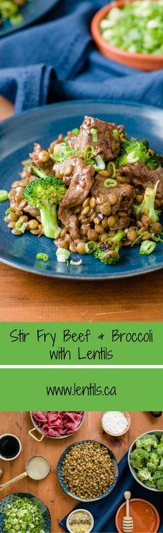 Stir Fry Beef & Broccoli | lentils.ca (Diabetic-Friendly/Heart-Smart/Gluten-Free/Lactose-Free)