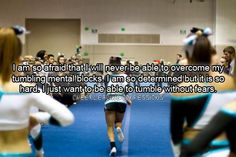 Most frustrating thing about cheerleading!