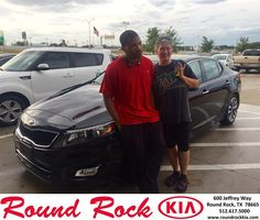 https://flic.kr/p/NnEft5 | #HappyAnniversary to Carrie & Derrick and your 2015 #Kia #Optima from Ruth Largaespada at Round Rock Kia! | www.deliverymaxx.com/DealerReviews.aspx?DealerCode=K449