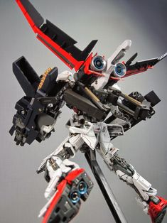 1/100 Strike Flow Gundam - Custom Build     Modeled by takumi.jp