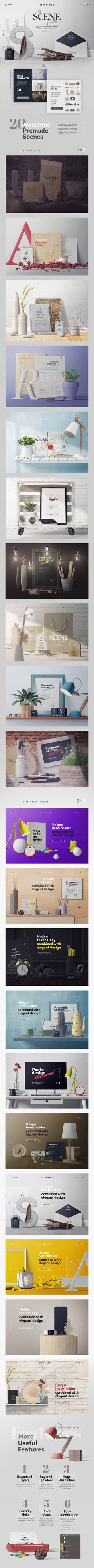 Huge graphic set of unique items and premade scenes. With this set you can create beautiful presentations. Almost no limitations where you can use it: Branding, Header, Web projects, Art, Calligraphy, Typography, and so on.