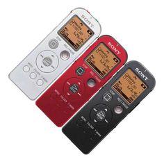 Sony Urządzenie nagrywające - ICD-UX522 - Dyktafon cyfrowy zodtwarzaczem muzycznym iłączem USB.   http://www.sony.pl/product/dic-voice-and-music-recorders/icdux522b.ce7