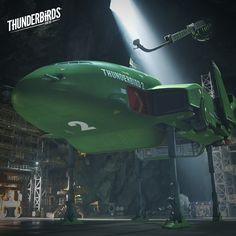Ready for the Pods – Thunderbird 2