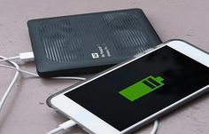 The WD My Passport Wireless Pro allows you to stream data between your devices and the hard drive via WiFi and it has a battery life of 10+ hours!
