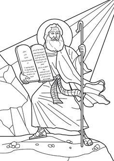 God S Ten Commandments Moses Story Kids Korner