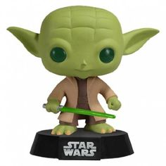 Funko Yoda Star Wars Pop You may have been asking yourself questions such as these: Hmm.I wonder if Funko will do a POP! Star Wars line? Wouldnt it be great Star Wars Yoda, Funko Pop Star Wars, Pop Vinyl Figures, Meister Yoda, Saga, Jouet Star Wars, Figurine Star Wars, Chibi, Otaku