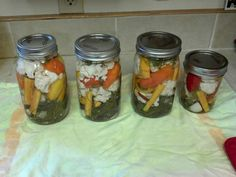 Pickled vegetables - easy and delicious!