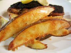 Healthy crispy oven chips @ http://allrecipes.co.uk