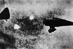 """""""Foo fighters"""" was the name given to small spheres of light that were seen by Allied air pilots during WWII. These fast-moving, glowing balls were often seen following aircraft  flying around them displaying speed  maneuverability beyond the capabilities of the Allied planes. Many Allied pilots believed them to be secret Nazi weapons, although they were never hostile. However, German  Japanese pilots encountered these same fiery orbs. Click for more info."""