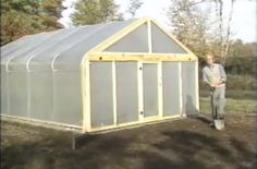 How To Build A Metal Frame Greenhouse For $600
