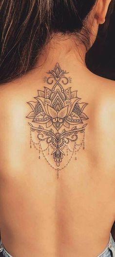 Mandala tattoo - Tattoo & Piercing - Tattoo Designs for Women Trendy Tattoos, Unique Tattoos, Cute Tattoos, Beautiful Tattoos, Body Art Tattoos, New Tattoos, Tattoos For Women, Tatoos, Back Tattoos