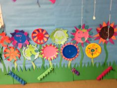 paper plate flower | Paper plate flowers