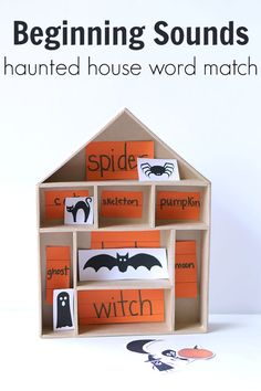 Halloween reading activity and FREE Printable!