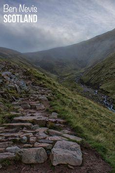 Climbing Ben Nevis in Scotland -- the highest peak in the United Kingdom!