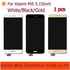 Touch Screen LCD Display For Xiaomi Mi5 Mi 5 5.15 Inch Snapdragon 820 Quad Core 4G Mobile Phone+Repair Tools+in stock Click visit for check price #mobilephoneaccessories