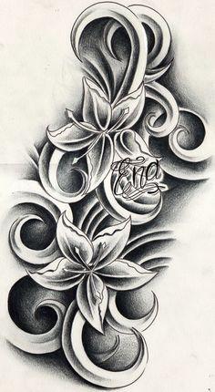 flower tattoo designs uk