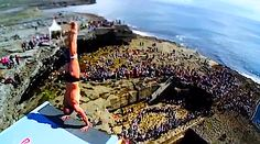 Slow Motion Cliff Diving Inis Mór - Red Bull Cliff Diving World Series 2012 (VIDEO)