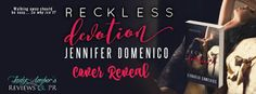 Reckless Devotion Cover Reveal with Jennifer Domenico.    Title: Reckless Devotion  Author: Jennifer Domenico  Genre: BDSM Erotica  Cover Designer: Wicked by Design  Editor: Mad Hatter Press  Hosted by: Lady Ambers PR  Blurb: Hes a dom shes not even a little submissive. It shouldnt work but they cant walk away from each other.  Boundaries will be crossed trust shattered secrets revealed. Both need to give up control. Both need to find middle ground.  When its easier to walk away theres only…
