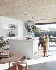 Sydney architect Madeleine Blanchfield won the My Ideal House design competition. Sydney architect Madeleine Blanchfield won the My Ideal House design competition run by Australian House and Garden and Mirvac with her plan for this . Home Design, Küchen Design, Interior Design Kitchen, Design Ideas, House Ideas, Australian Homes, Australian Interior Design, Style At Home, Home Fashion