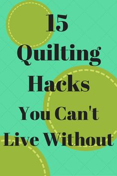 15 Quilting Hacks You Can't Live Without - Seams And Scissors Quilting 101, Quilting Tools, Quilting For Beginners, Quilting Tutorials, Quilting Projects, Sewing Projects, Quilting Ideas, Youtube Quilting, Triangle Quilt Tutorials