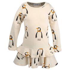 MIni Rodini - Beige Penguin Dress, AW 13