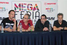 Hombres G (de izquierda a derecha): Dani Mezquita, David Summers, Javi Molina y Rafa Gutiérrez