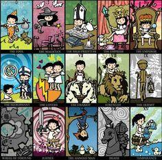 Tarot Card Designs