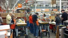 Do It Herself Workshop fun at The Home Depot in Hillsboro.