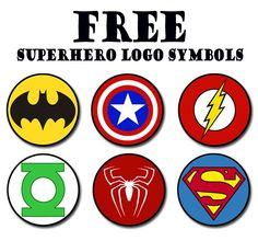 make your own superhero symbol daisy - Google Search