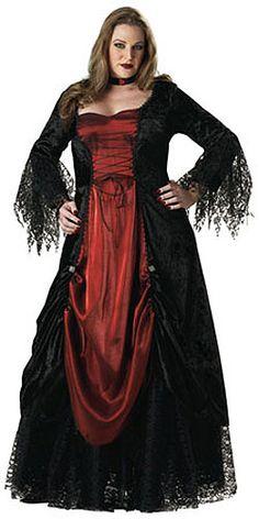 1b2fbb57c0d Women s Plus Size Vampire Costume. Gothic GownsGothic ...