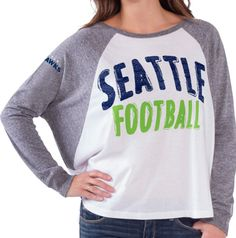 Every girl deserves to have a cute look for gameday! Spoil yourself with comfort while watching the game with this cute NFL inspired shirt!