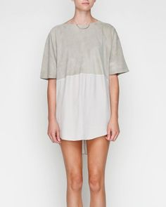 Luxe Utility Slice Dress by Shakuhachi