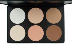 Frola Cosmetics Professional 6 Colors Contour Face Power Foundation Makeup Palette #01