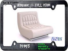 ..::A.O.W::.. Armchair -1- FULL PERM MESH