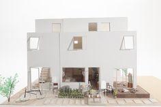 梅ヶ丘の長屋 Architecture Models, Arch Model, Condo, Homes, Building, Interior, Design, Architecture, Houses
