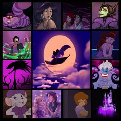 """Purple Disney"" by nightwatchman54 ❤ liked on Polyvore"