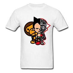 b7e7a366a Amazon com Bape Baby And Astro Boy YEGOU Outdoors Men 39 s T Shirt Clothing  Astro