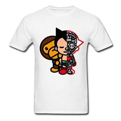 Amazon com Bape Baby And Astro Boy YEGOU Outdoors Men 39 s T Shirt Clothing