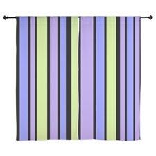 Window Curtains Purple green black bold stripes #cafepress #decor #homedecor #style