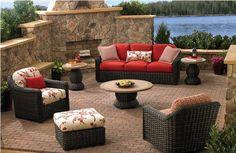 ¿Cuales son los mejores materiales para muebles de exterior?: Mimbre