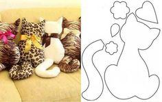 Gatito. cat pattern