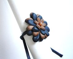 Leather Bracelet with natural stone carnelian by Skandic on Etsy, kr358.00