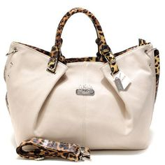 Cheap And Fashion Coach Madison Leopard Large White Satchels ACP Are Here!