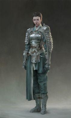 #female #warrior #samurai