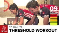 Indoor Cycling Workout – 20 Minute Threshold Training