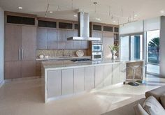 High-Rise Remodel - contemporary - kitchen - houston - Cabinet Innovations