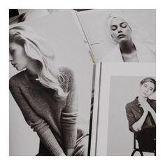 """Finish the week with some Inspirations... #editorial #magazines #blackandwhite #inspo #inspiration #girl #cozy #sunday #fashion #minimal #minimalism"""