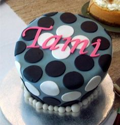 Thirty One Gifts Cake - Happy Dot